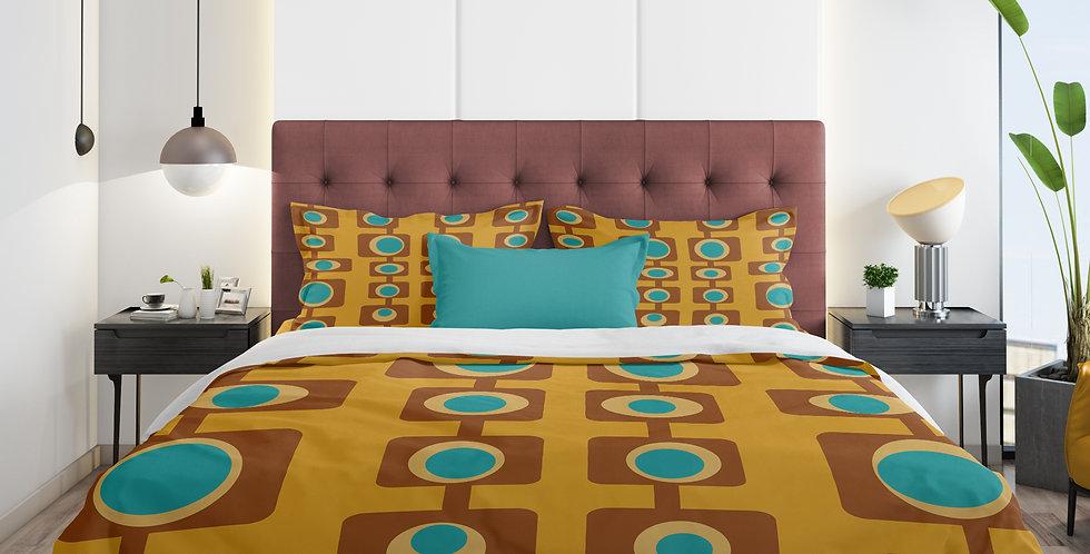 mid century modern duvet cover