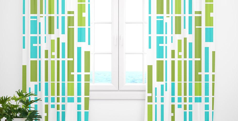 Mid Century Modern Curtains - Denny