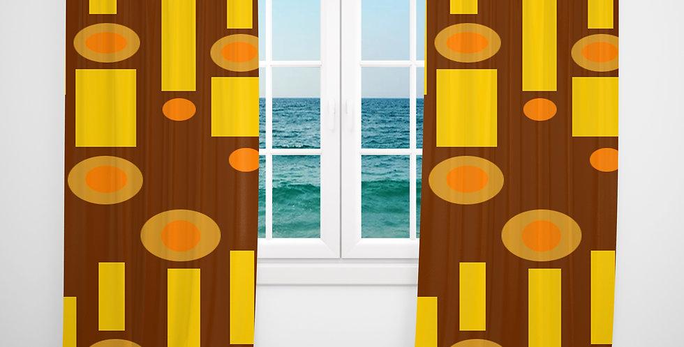 Mid Century Modern Curtains -Homer