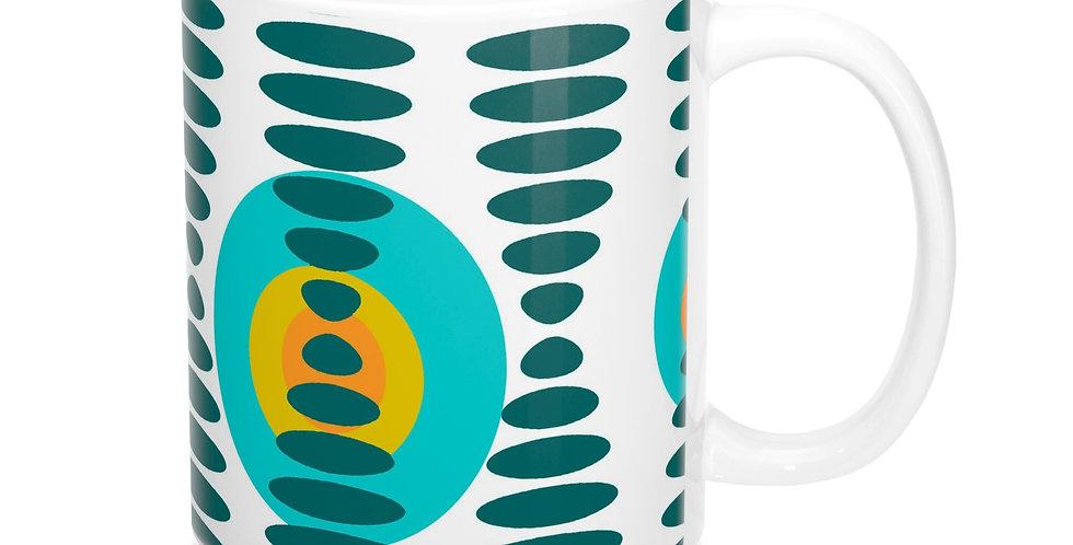Mid Century Modern Mug -M0008