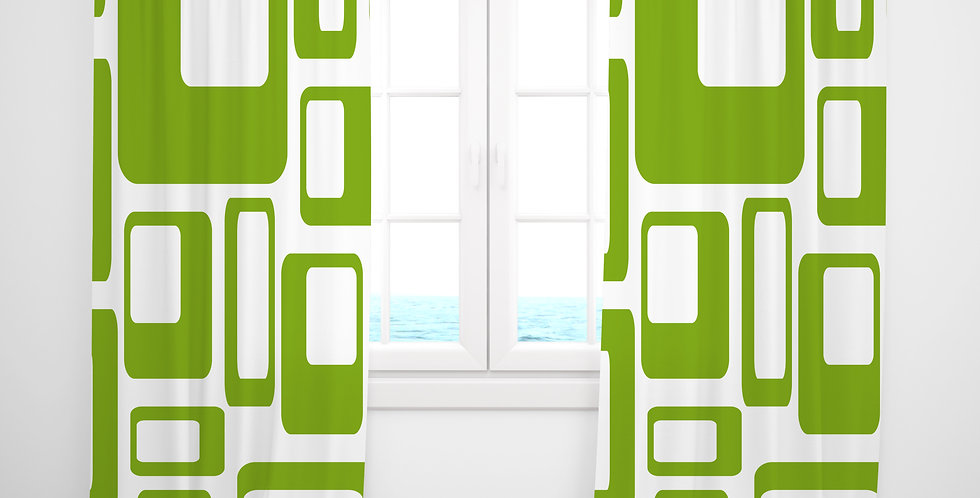 Mid Century Modern Curtains - Howard