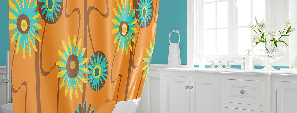 Mid Century Modern Shower Curtain - Alastair