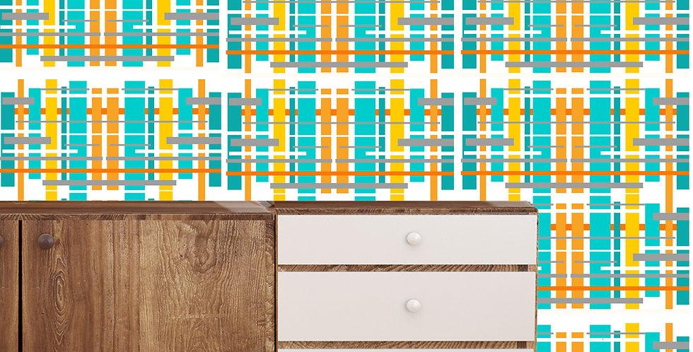 Alton - Mid Century Modern Wallpaper
