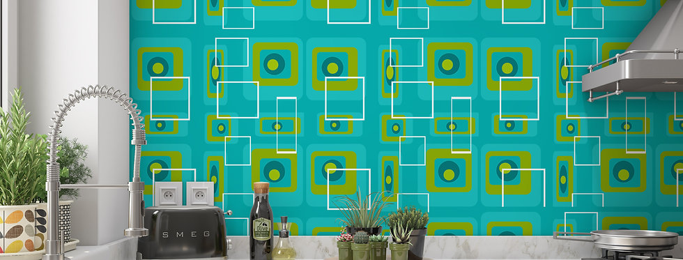 Percival - Mid Century Modern Wallpaper