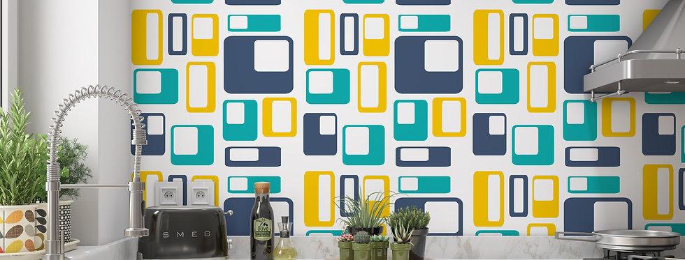 Casey - Mid Century Modern Wallpaper