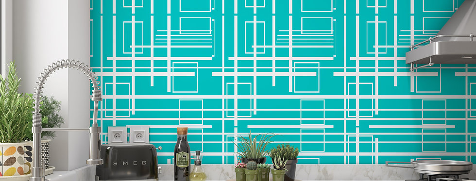 Avery - Mid Century Modern Wallpaper