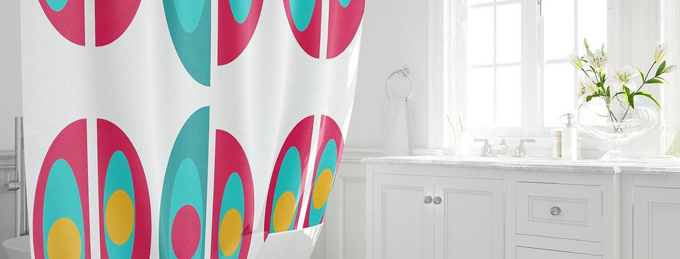 Mid Century Modern Shower Curtain - Broderick