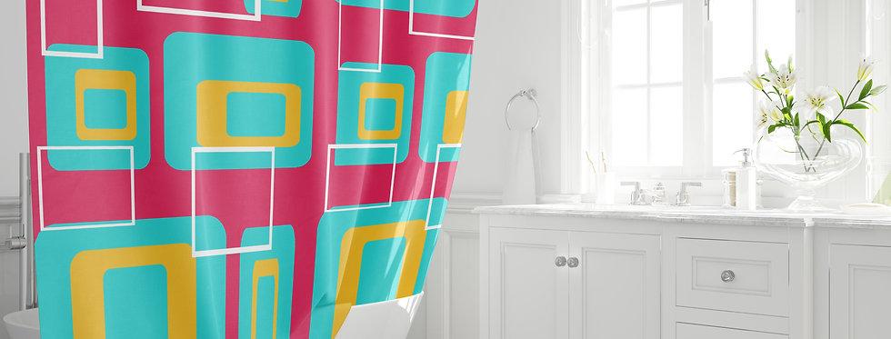 Mid Century Modern Shower Curtain - Bucknell