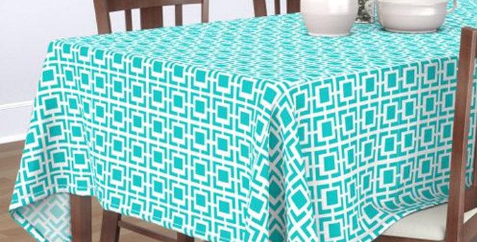 Breeze Block Tablecloth