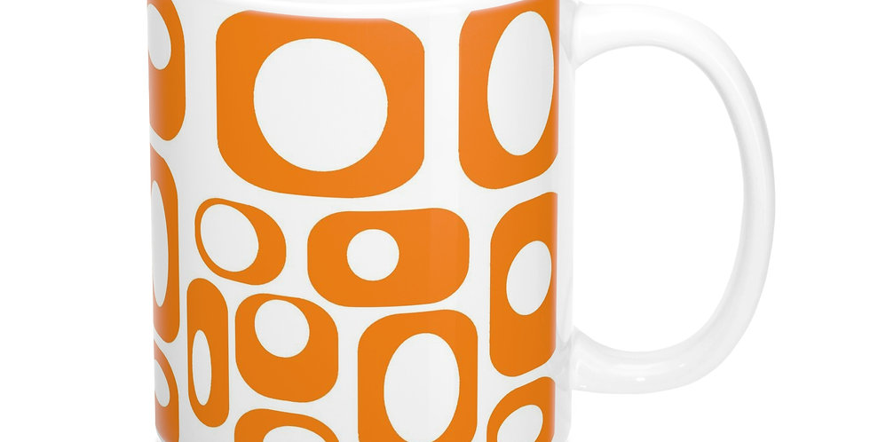 mid century modern coffee mug