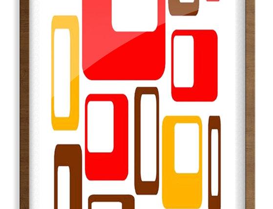 Mid Century Modern Poster  0019