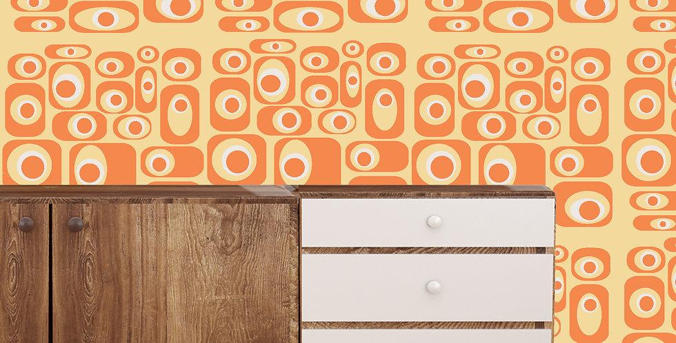 Orville- Mid Century Modern Wallpaper
