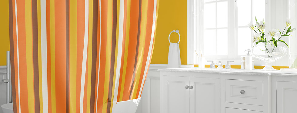 Mid Century Modern  Shower Curtain  - Benji