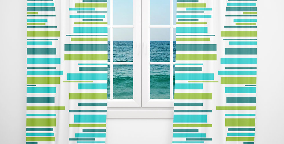 Mid Century Modern Curtains - Bruce