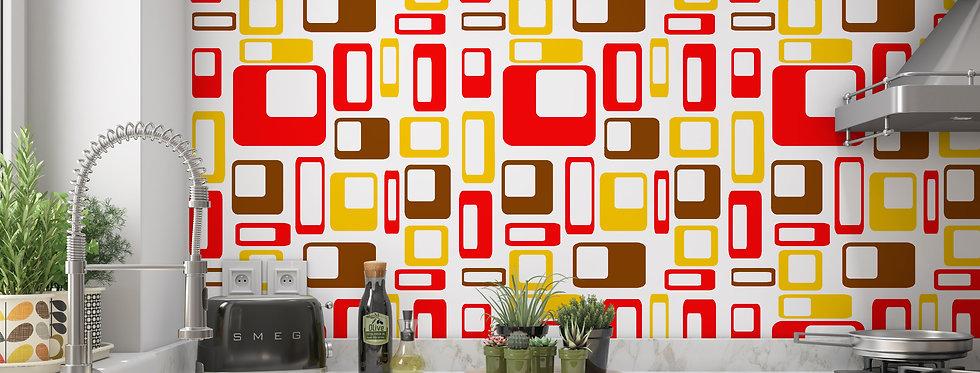 Cary - Mid Century Modern Wallpaper
