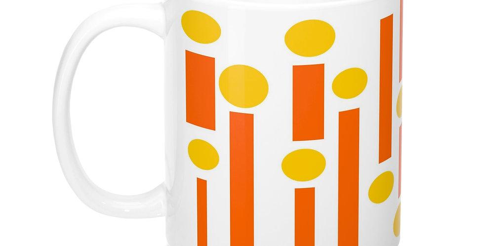 Mid Century Modern Mug -M0015