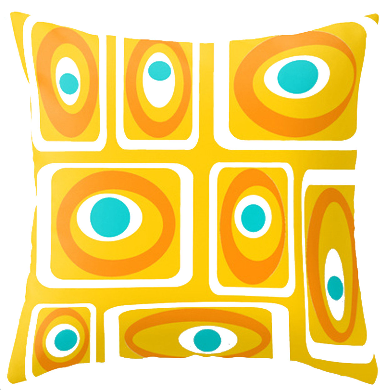 mid century modern pillows united states  crash pad designs  - modern outdoor pillow clay