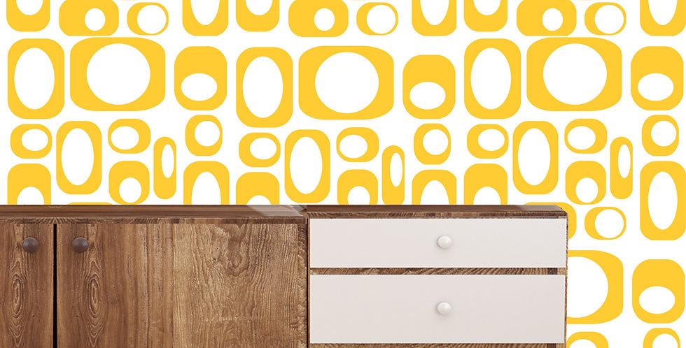 Clifford - Mid Century Modern Wallpaper