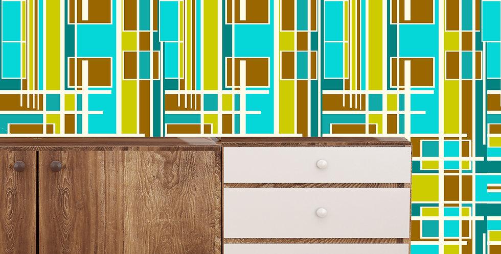 Sturgis - Mid Century Modern Wallpaper