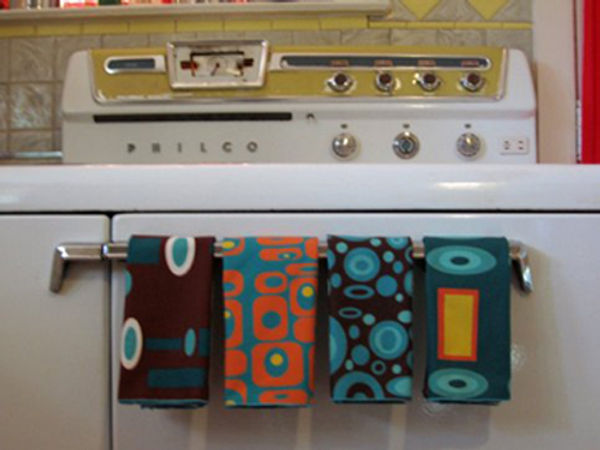 Crash Pad Designs, kitchen towels, tea towels