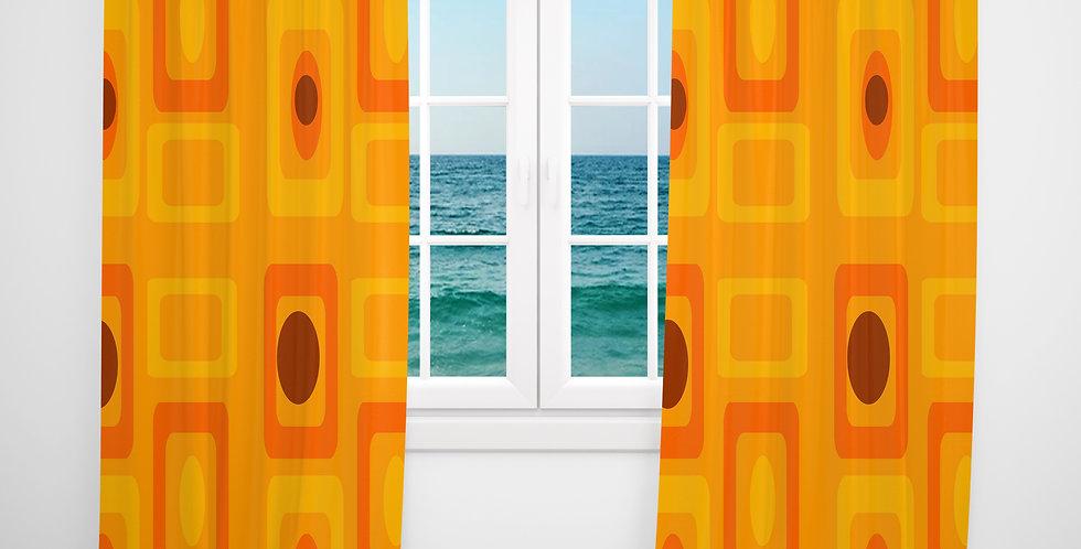 Mid Century Modern Curtains - Lawson