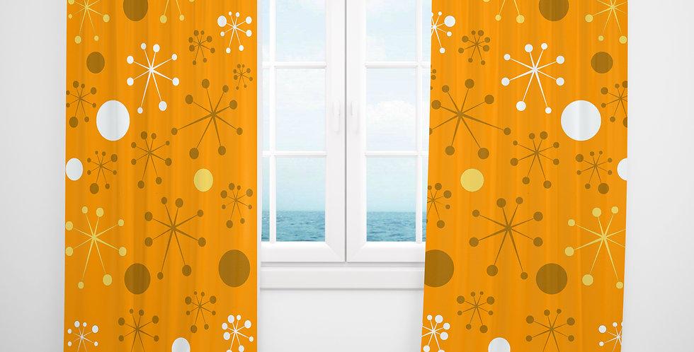 Mid Century Modern Curtains - Otto