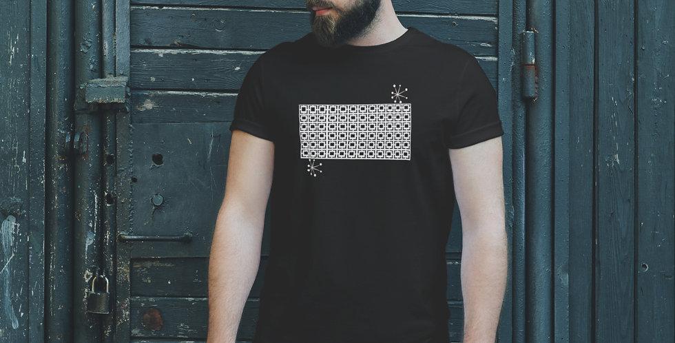 Breeze Block Unisex T Shirt/ White