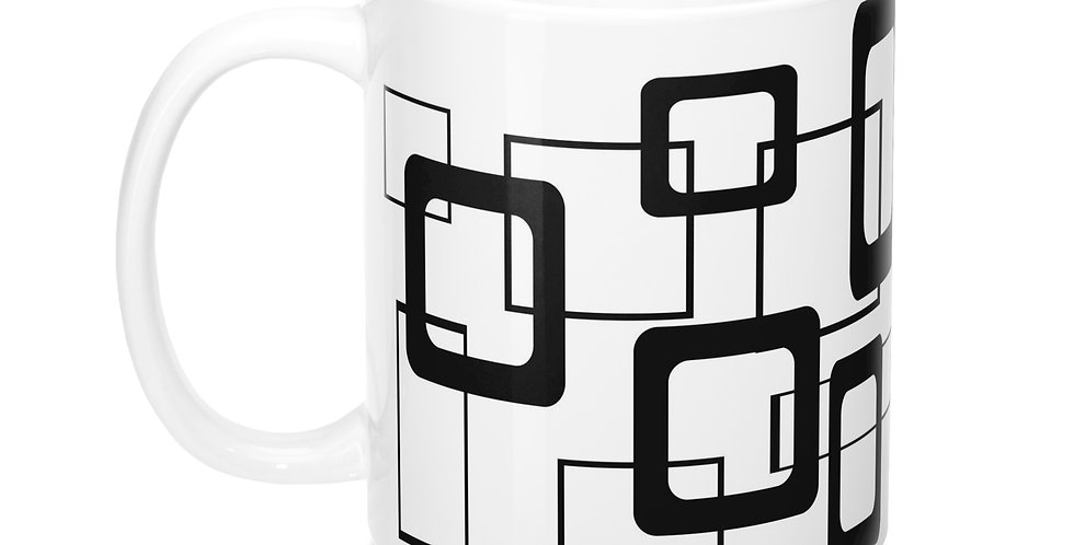 Mid Century Modern Mug -M0047