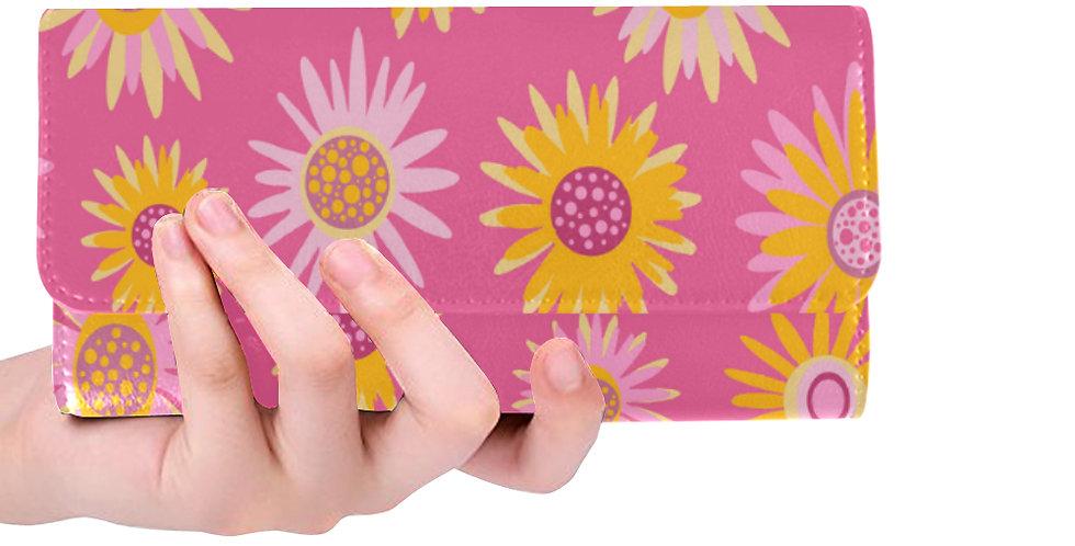 Floral Pink Wallet