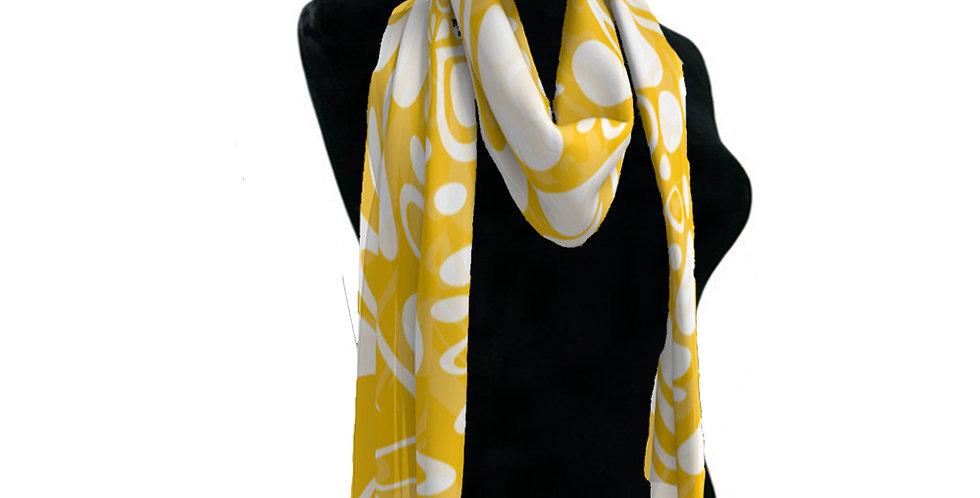 Yellow/White Scarf