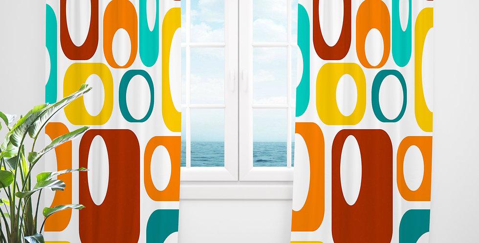 Mid Century Modern Curtains - Wiley