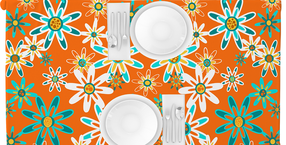 Modern Tablecloth - Saxby