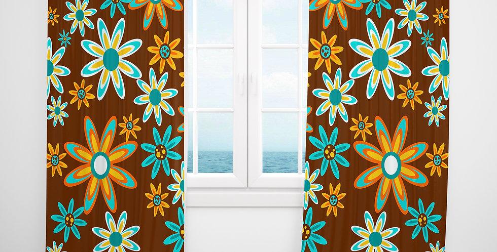 Mid Century Modern Curtains - Haynes