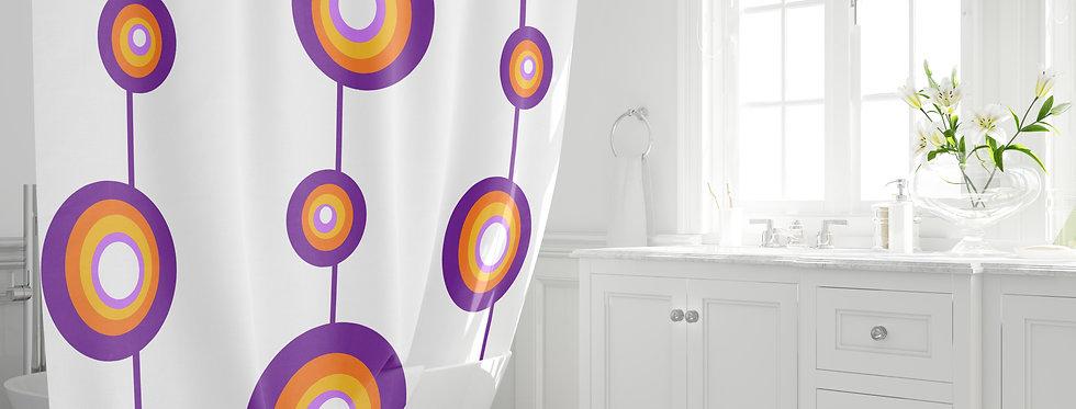 copy of Mid Century Modern Shower Curtain -Ervin