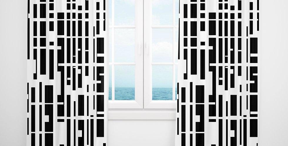 Mid Century Modern Curtains - Barnaby