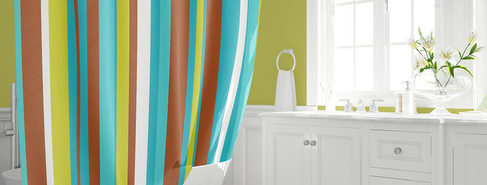 Mid Century Modern Shower Curtain - Cash