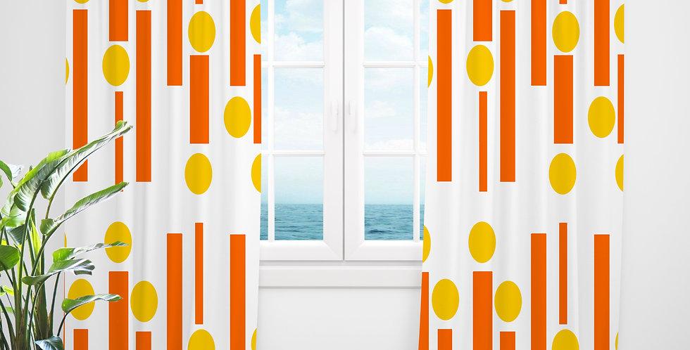 Mid Century Modern Curtains - Dean