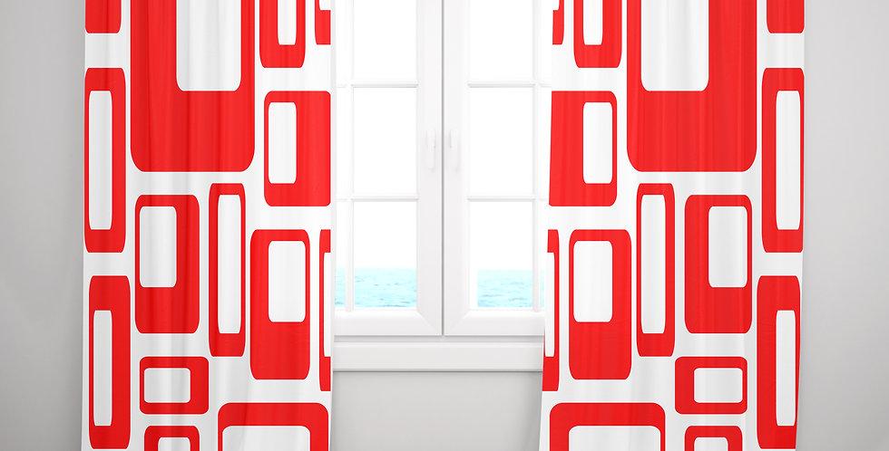 Mid Century Modern Curtains - Ramsey
