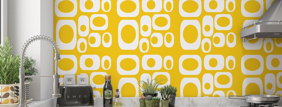 Alfred - Mid Century Modern Wallpaper