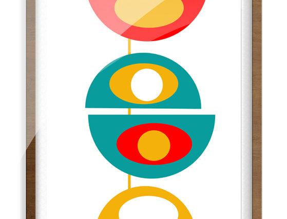 Mid Century Modern Poster 0016
