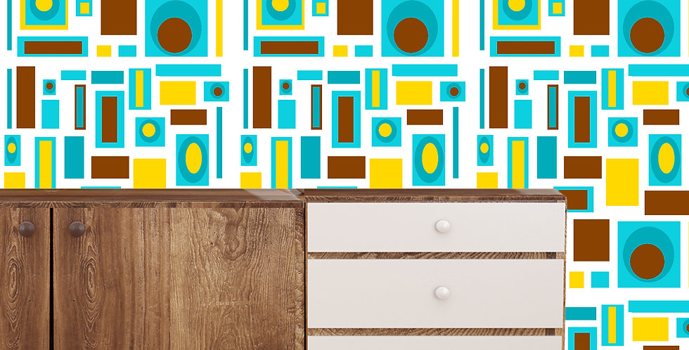 Ellis- Mid Century Modern Wallpaper