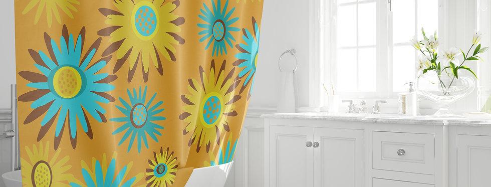 Mid Century Modern Shower Curtain - Anderson
