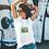 Thumbnail: Retro Radio Unisex T Shirt/ Green