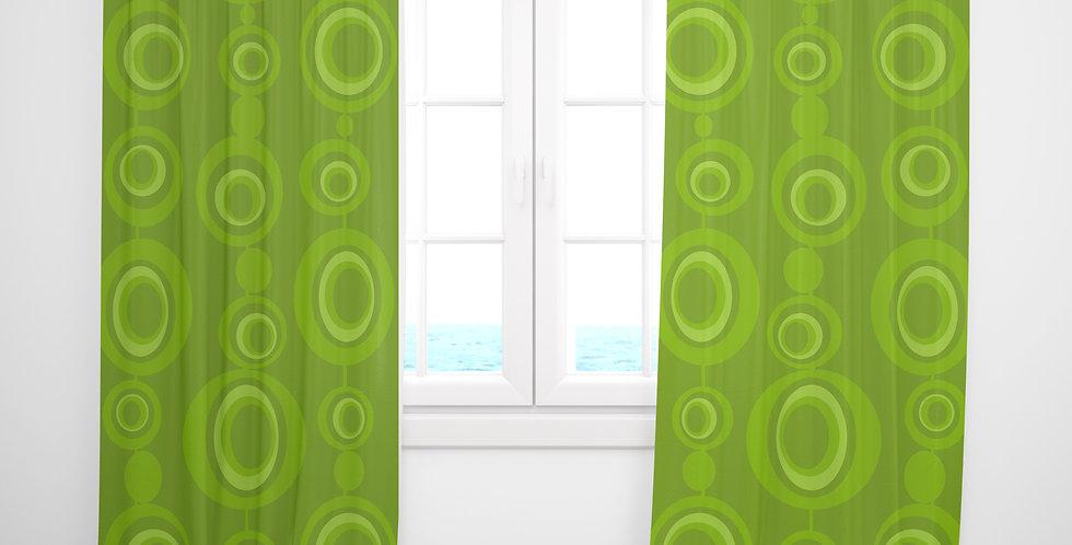 Mid Century Modern Curtains - Burl