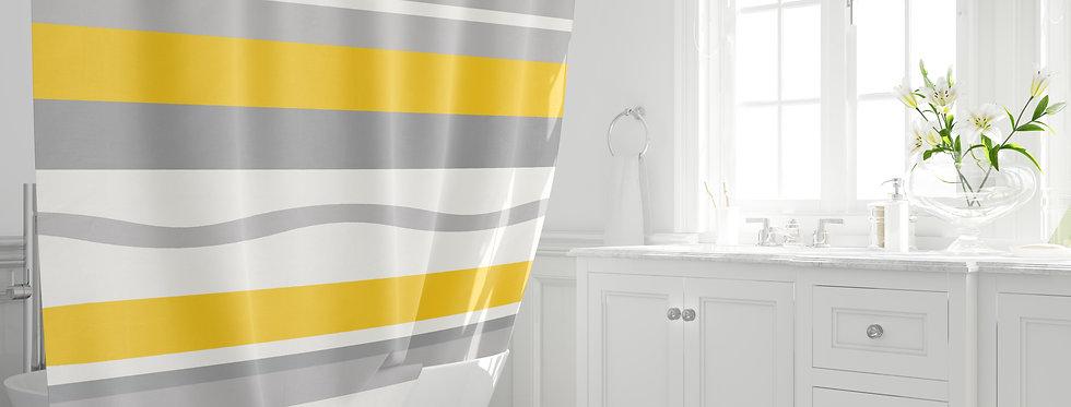 Mid Century Modern Shower Curtain -Jacob
