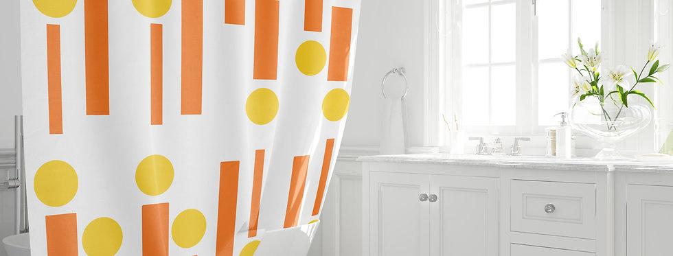 Mid Century Modern Shower Curtain - Dean