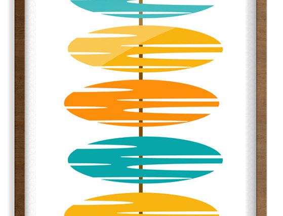 Mid Century Modern  Poster 0018