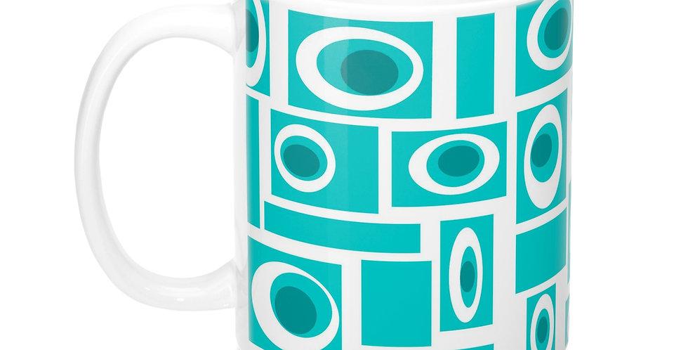 Mid Century Modern Mug -M0011