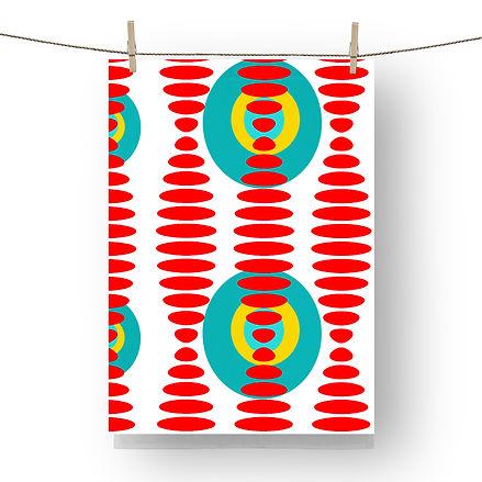 mcm tea towel ,mid century modern tea towel, retro tea towel, 1.jpg