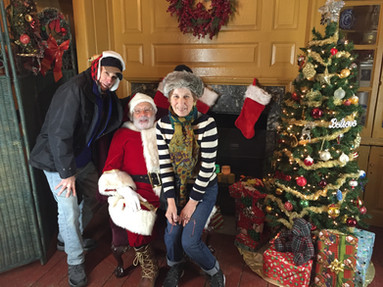 Santa and More Elves